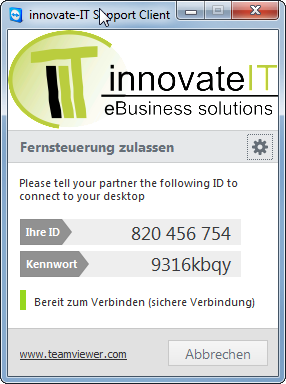 innovate-IT Support Client